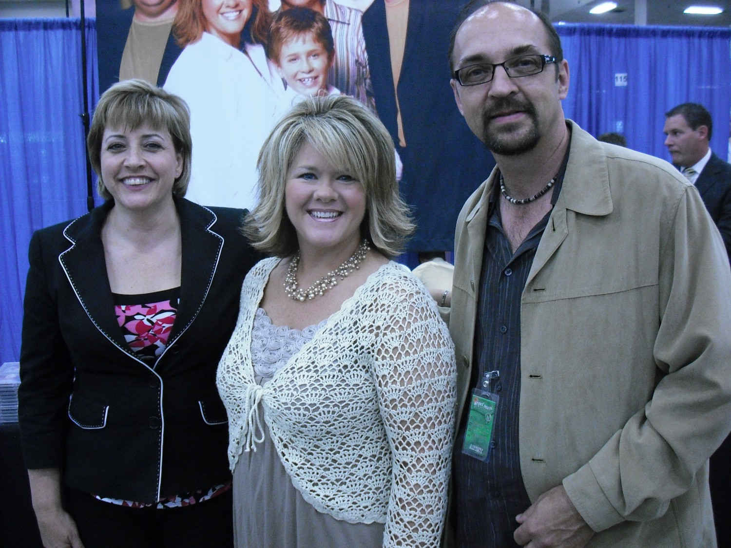 Susan Whisnant with Dianne and Dale