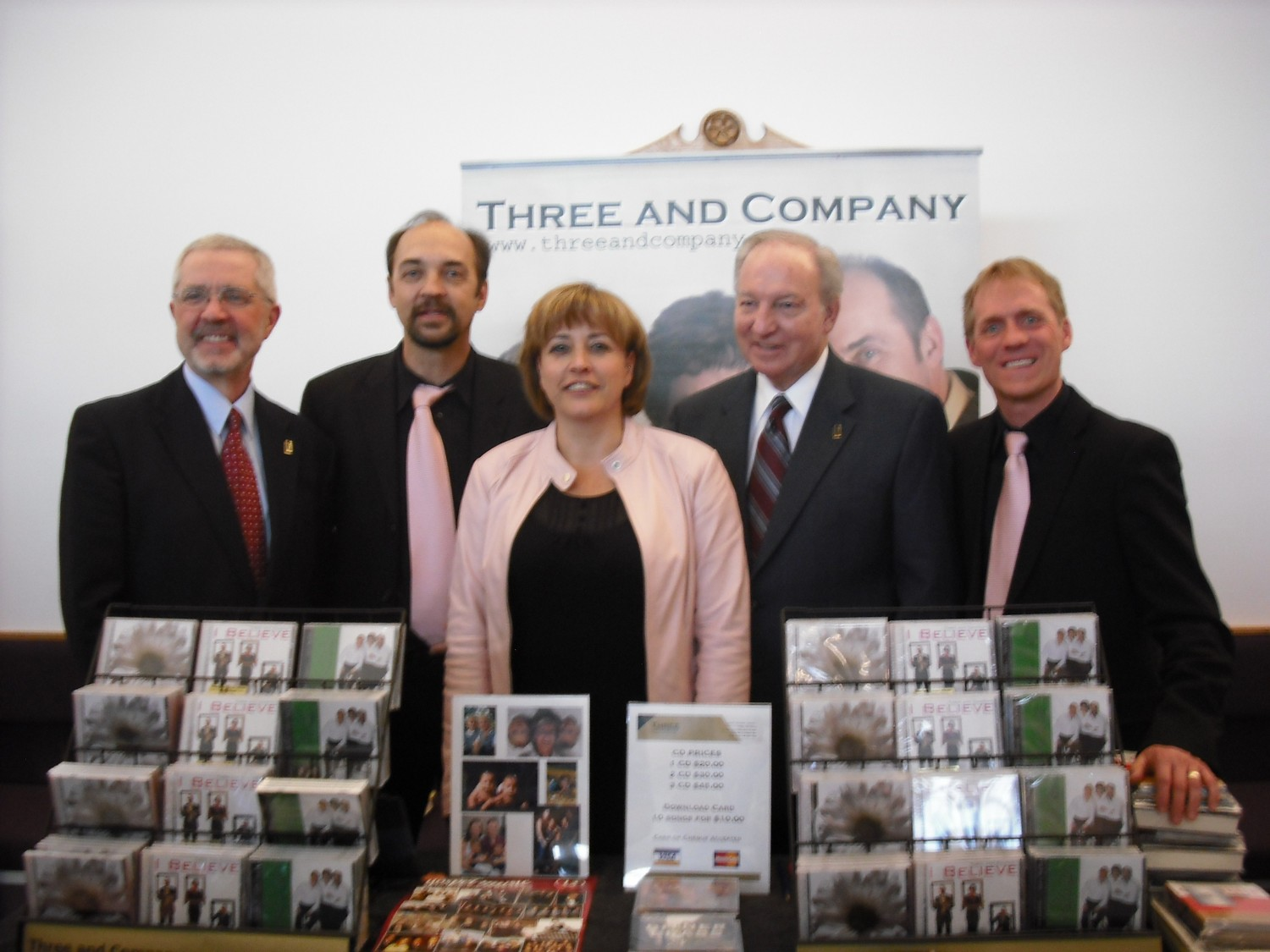 Three and Company with H.B. London (cousin to James Dobson)