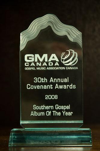 GMA Award Southern Gospel Album of the Year 2008
