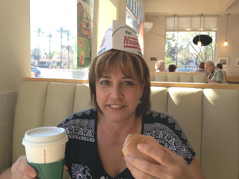 Krispy Kreme - hard to order less than a dozen!
