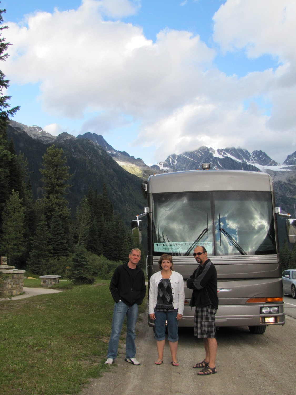 Living In Grace tour, on the Rogers Pass