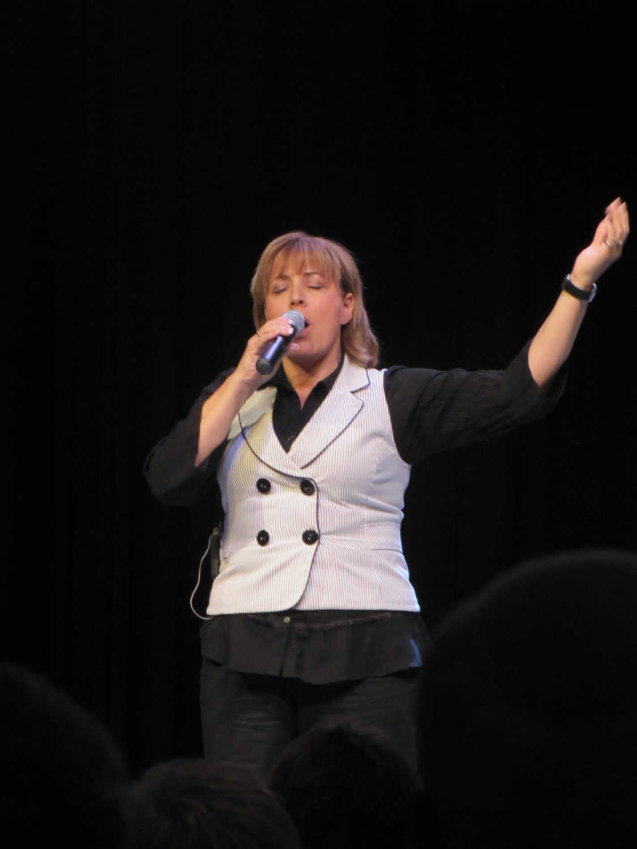 Dianne at Millwoods Pentacostal Assembly