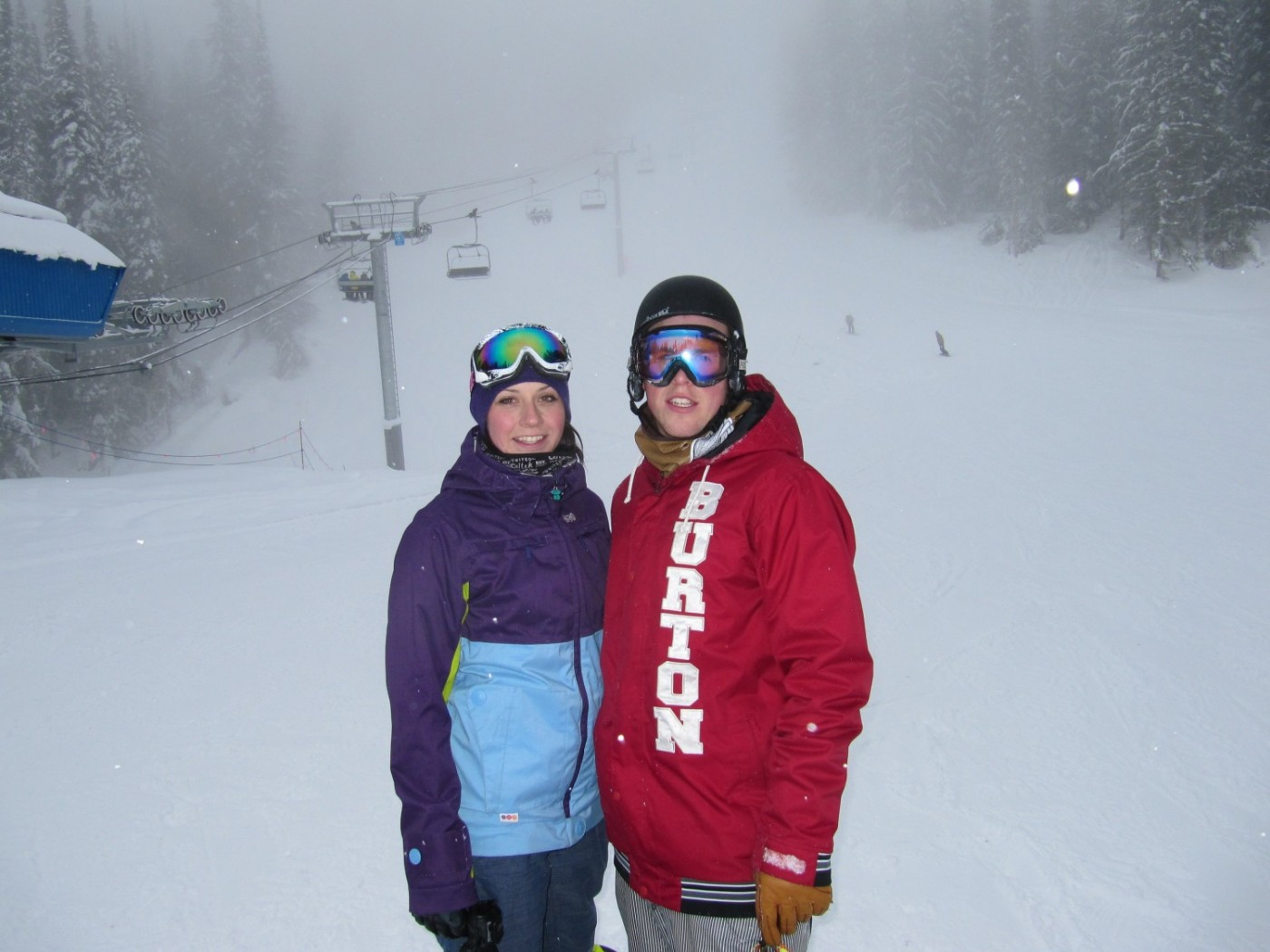 Kristin & Chris Cooknell, the snowboarders, I prefer SNOWBIRD in PHOENIX
