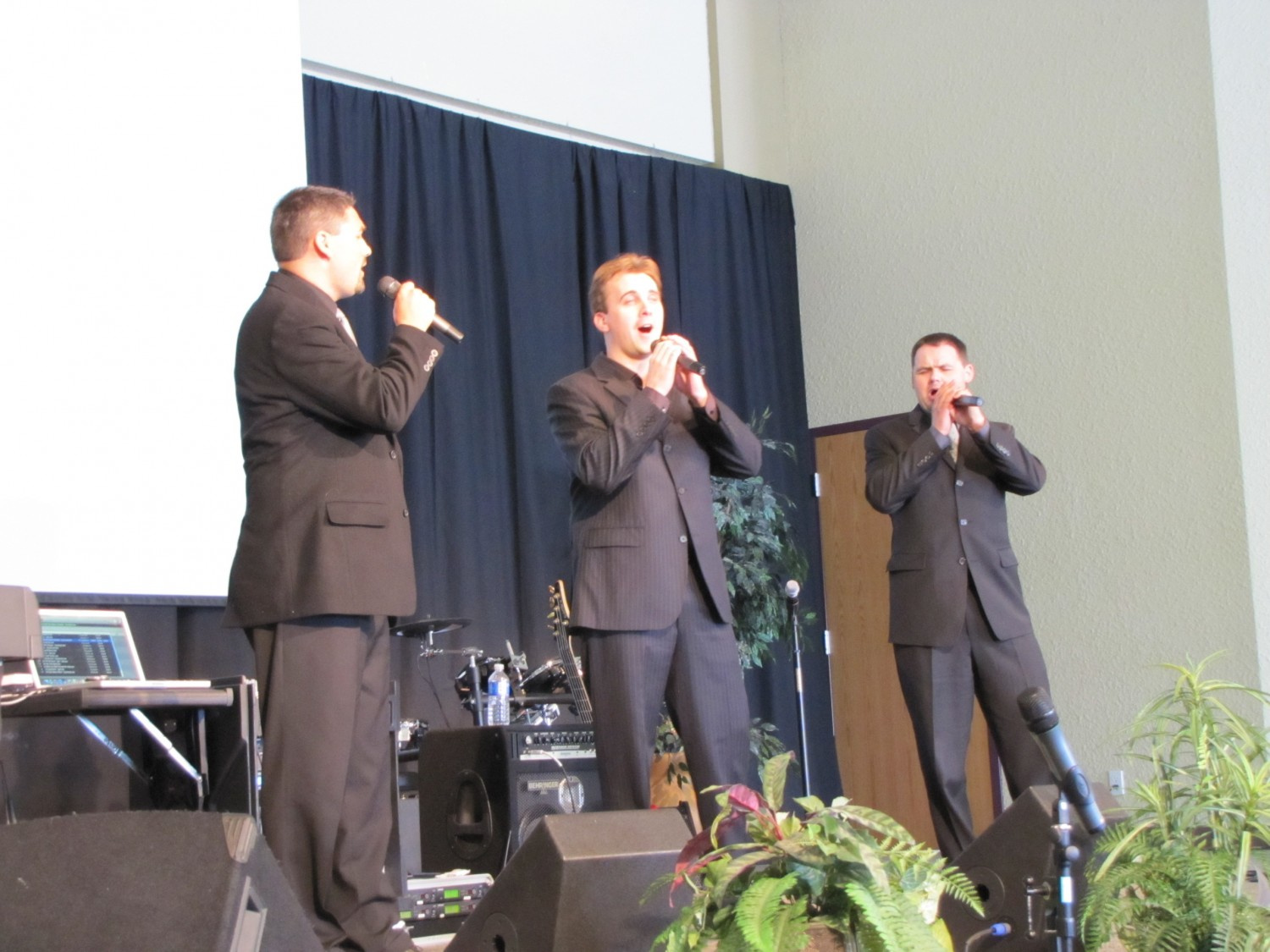 Freedom Singers at Lacombe