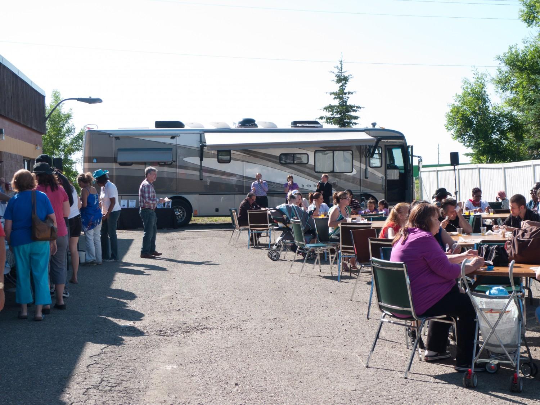 Calgary Stampede pancake breakfast concert