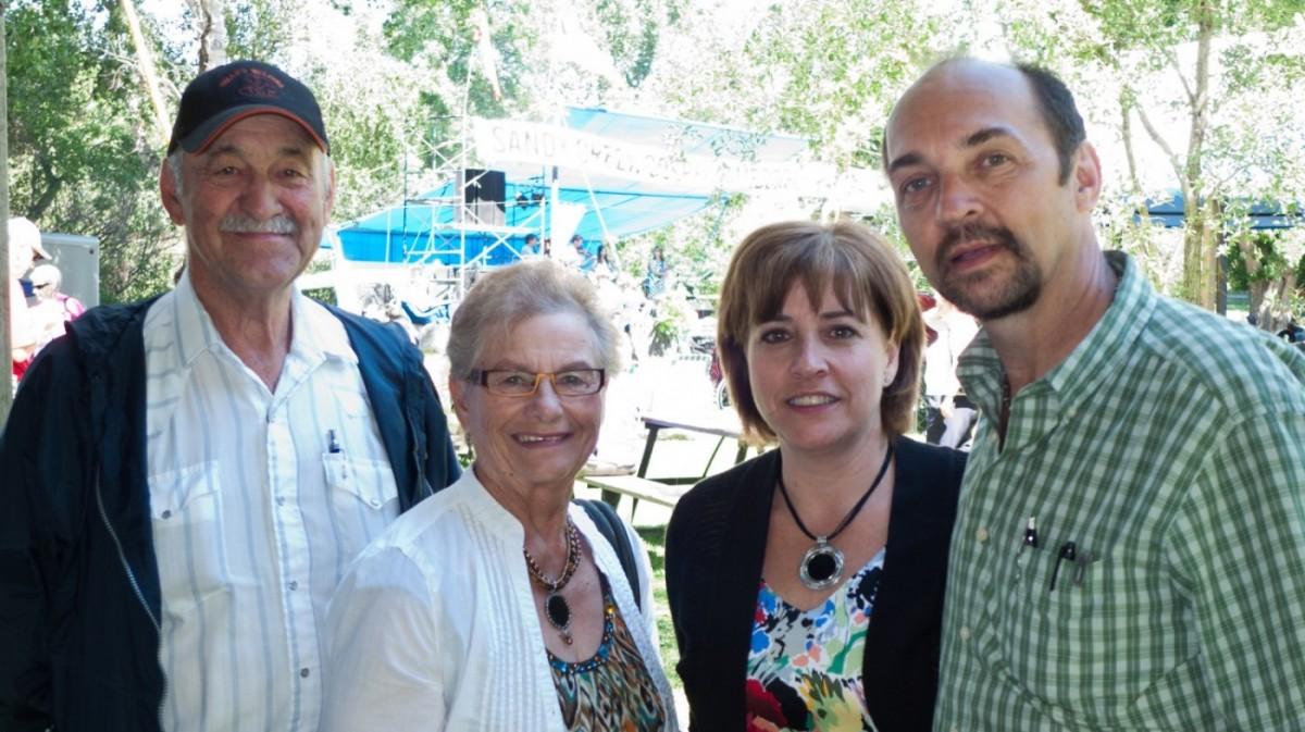 Gerald & Sally Schwartz at Sandy Creek