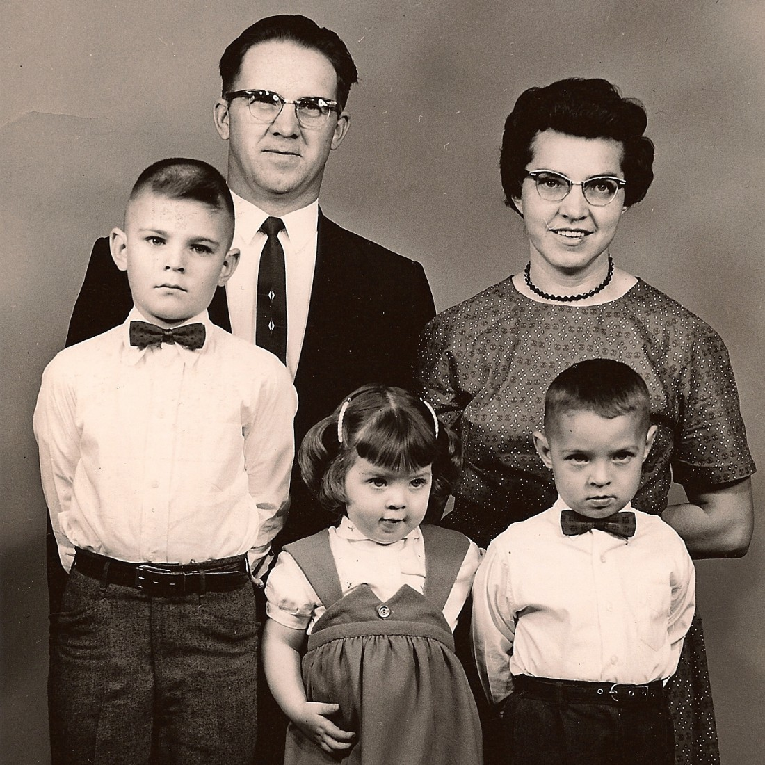 Mom & Dad Johnson, Randy, Arlene and Dale