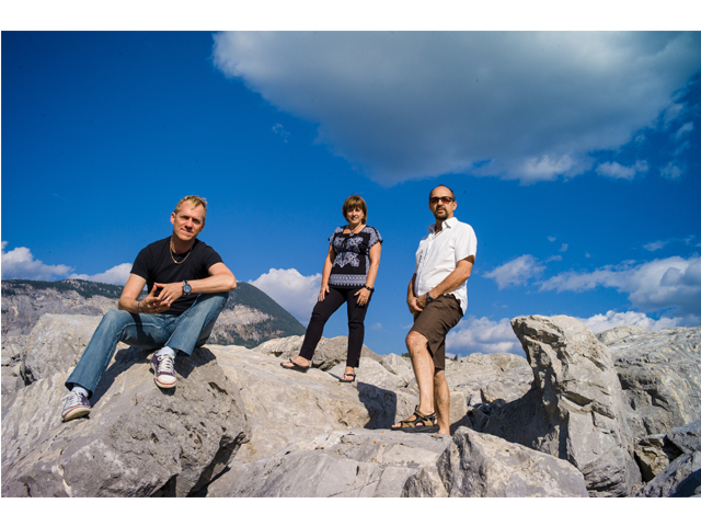 At Frank Slide enroute to Creston, BC